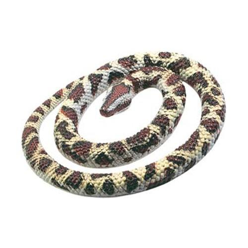 Rubberen speelgoed python slang 66 cm