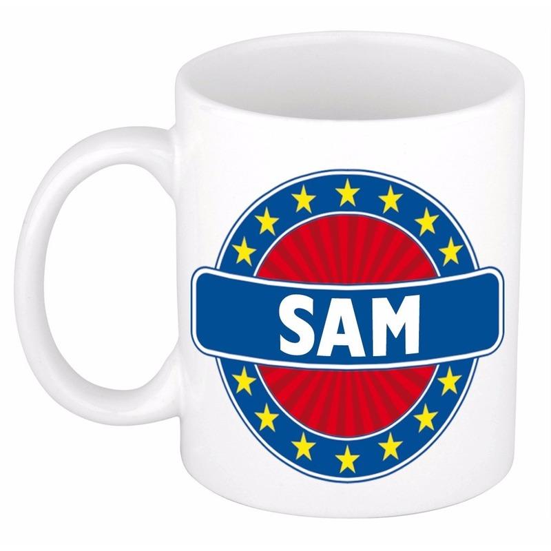 Sam naam koffie mok-beker 300 ml