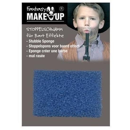 Schmink/make-up sponsje voor stoppelbaarden