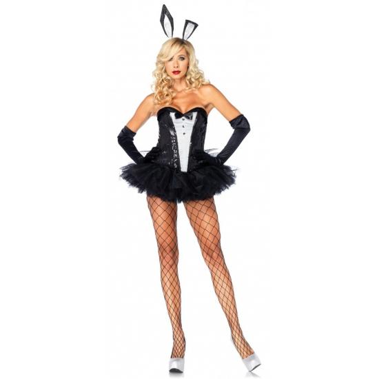 Sexy bunny verkleed outfit voor dames