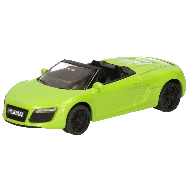 Siku Audi R8 cabrio speelgoed auto modelauto