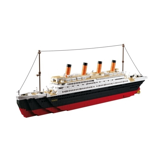 Sluban Titanic bouwstenen set