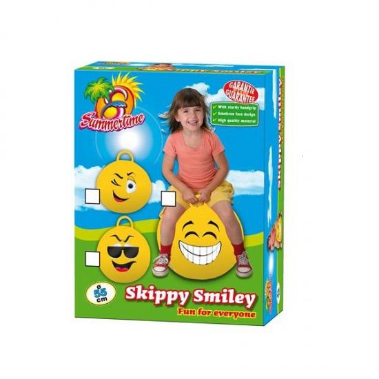 Smiley skippybal knipoog