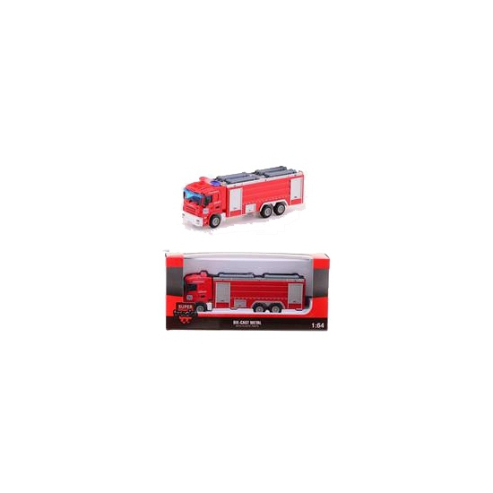 Speelgoed brandweer bluswagen