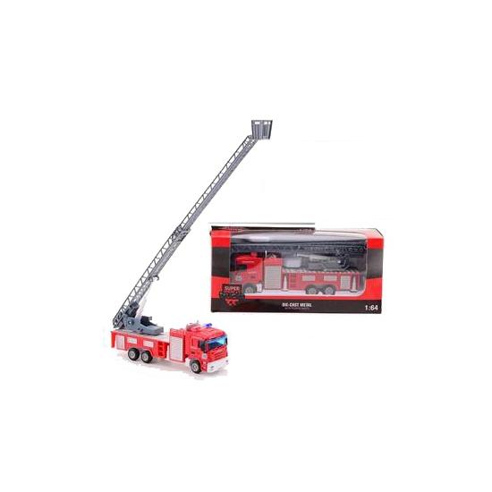 Speelgoed brandweer ladderwagen