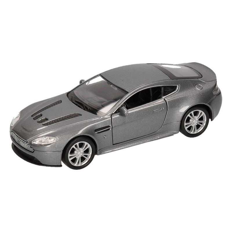 Speelgoed grijze Aston Martin Vantage V12 auto 1:36