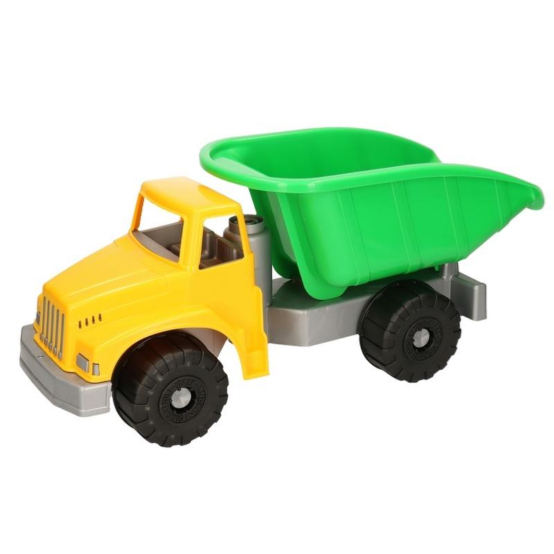 Speelgoed kiepwagen groen
