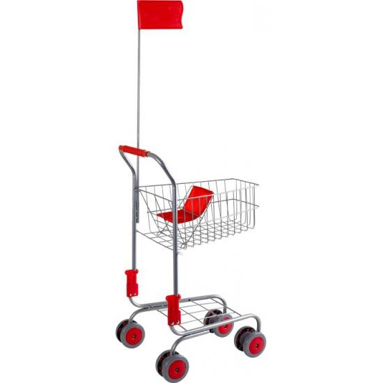Speelgoed winkelwagen 37 x 32 x 60 cm