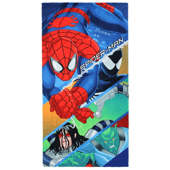 Spiderman badlaken 70 x 140 cm