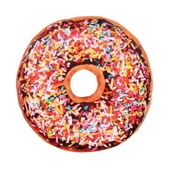 Sprinkels donut kussen chocolade 40 cm