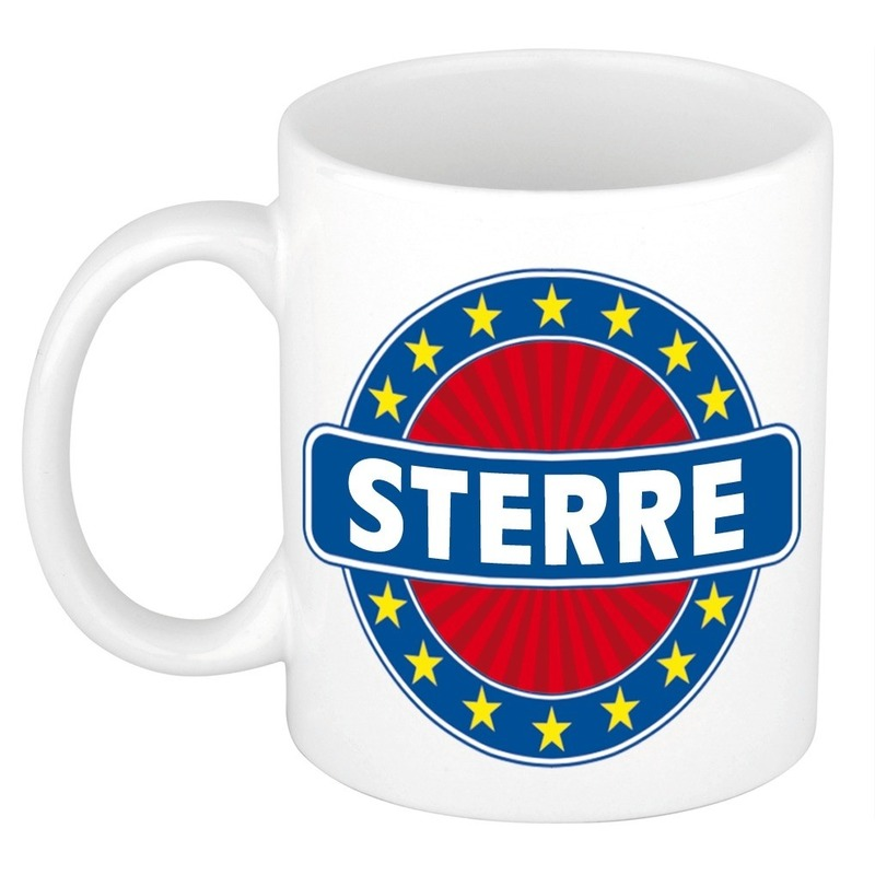 Sterre naam koffie mok-beker 300 ml