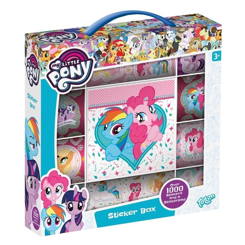 Stickerbox My Little Pony 1000 stickers