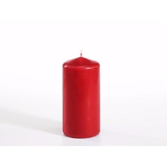 Stompkaars rood 10 cm