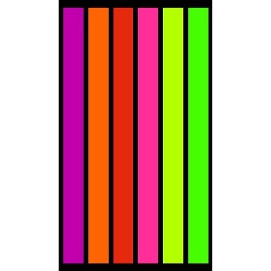 Strandlaken/badlaken strepen Happy Fresh 100 x 175 cm