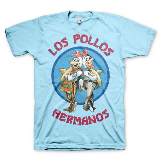 T-shirt Breaking Bad Los Pollos blauw