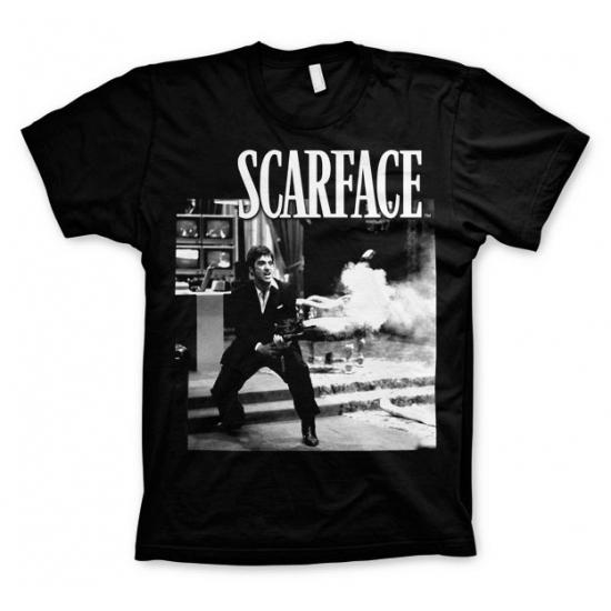 T-shirt Scarface Wanna Play Rough