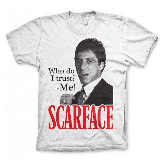 T-shirt Scarface Who Do I Trust