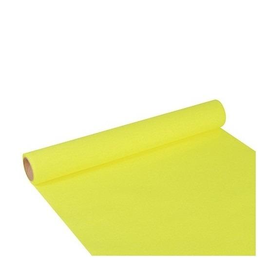 Tafelloper limegroen 300 x 40 cm papier