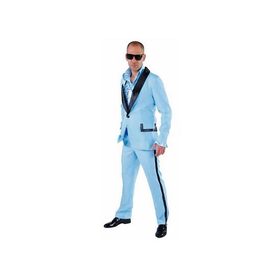 Toppers - Lichtblauwe smoking voor heren