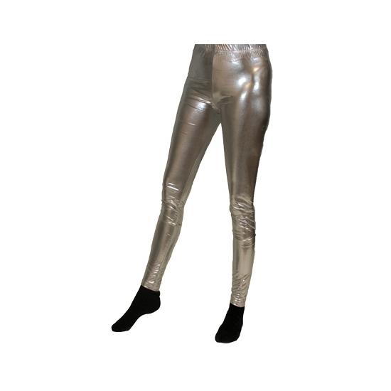 Toppers - Zilveren legging