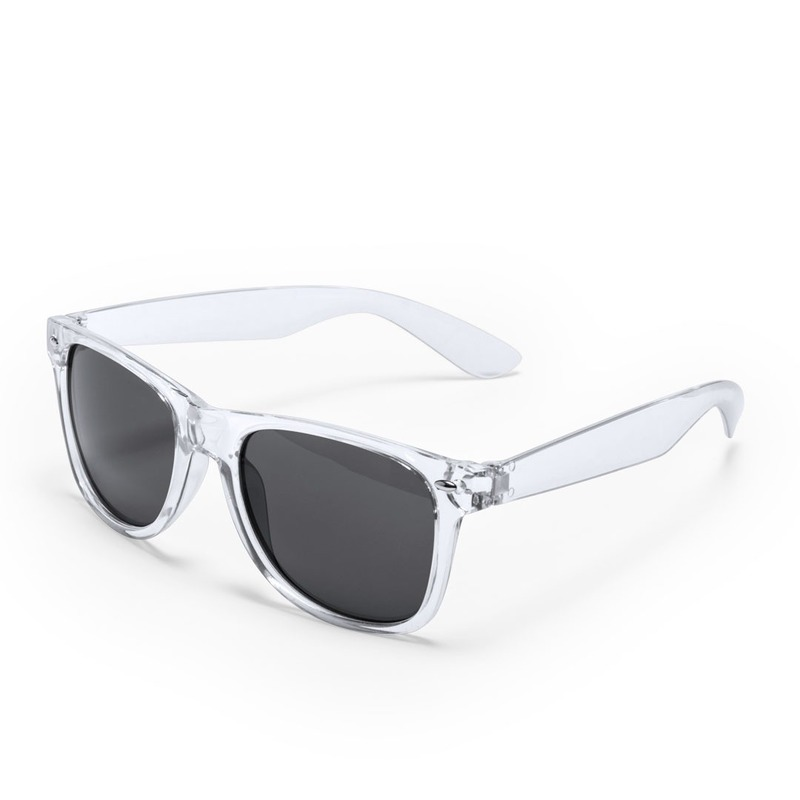 Transparante retro model zonnebril voor volwassenen