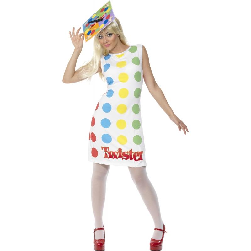 Twister verkleed kostuum/jurkje voor dames