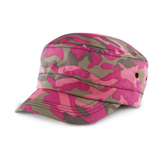 Urban camouflage pet roze
