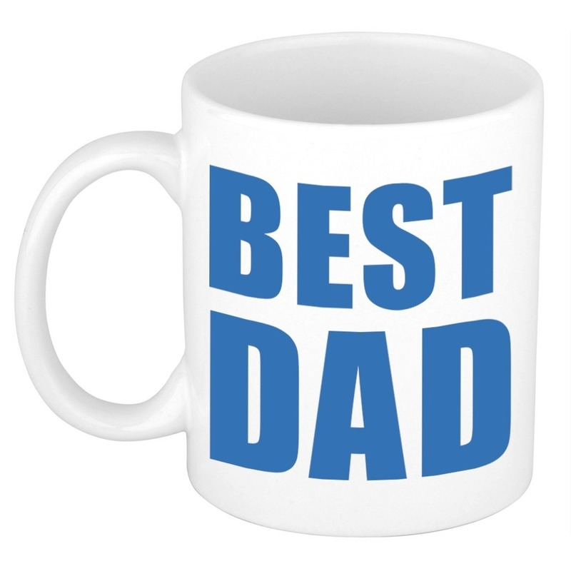Vaderdag mok - beker Best Dad 300 ml