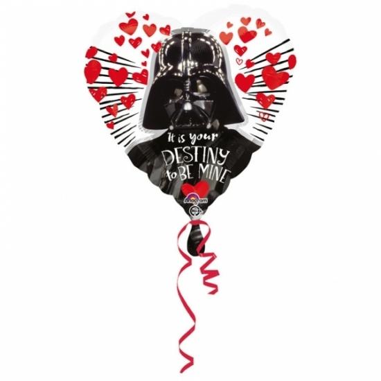 Valentijn - Star Wars hartjes folie ballon 43cm