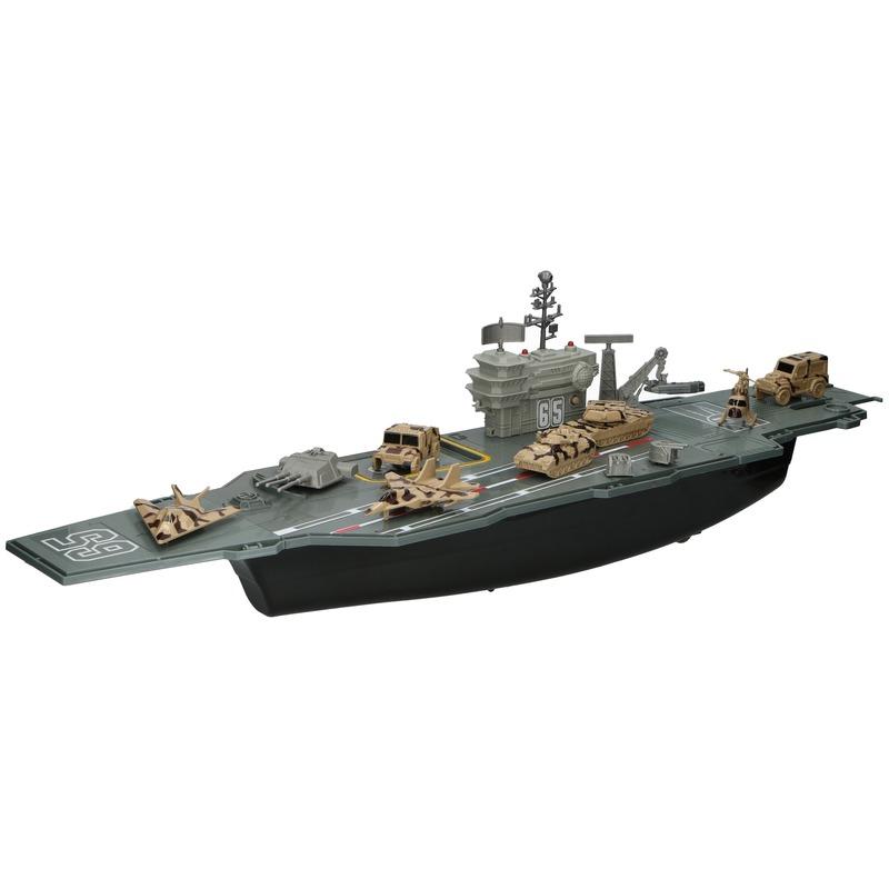 Vliegdekschip met licht en geluid 78 cm