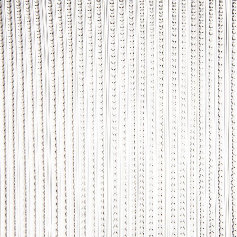 Vliegengordijn/deurgordijn grijs transparant 93 x 220 cm