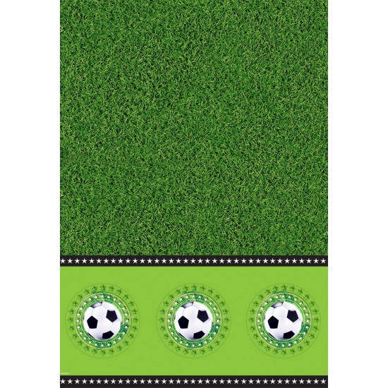Voetbal tafelkleed 130 x 180 cm