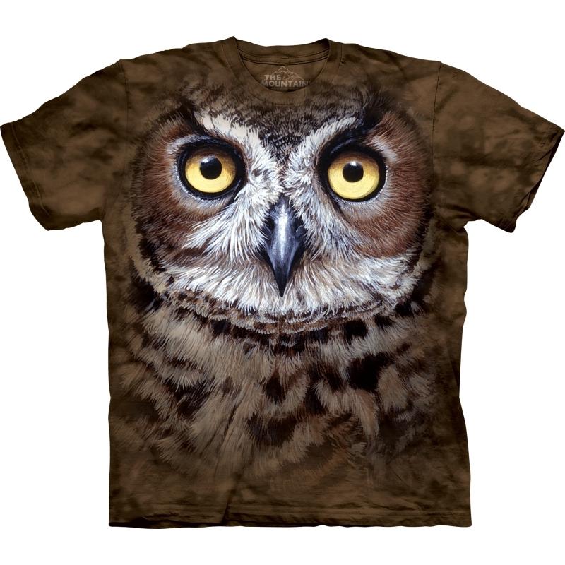 Vogel T-shirt Uil voor volwassenen