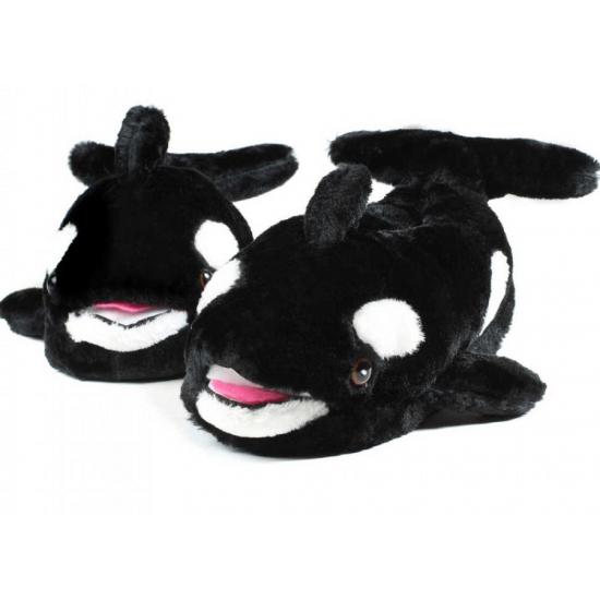 Volwassenen dieren sloffen - pantoffels walvis