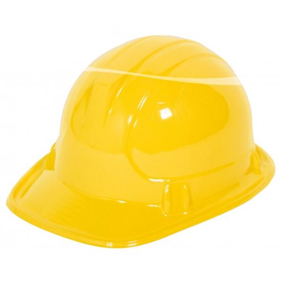 Voordelige gele kinder bouwhelm