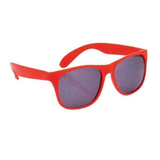 Voordelige rode zonnebril