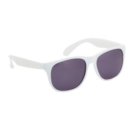 Voordelige witte zonnebril