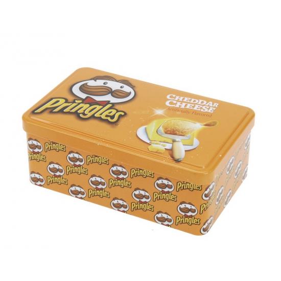 Voorraadblik Pringles opdruk oranje