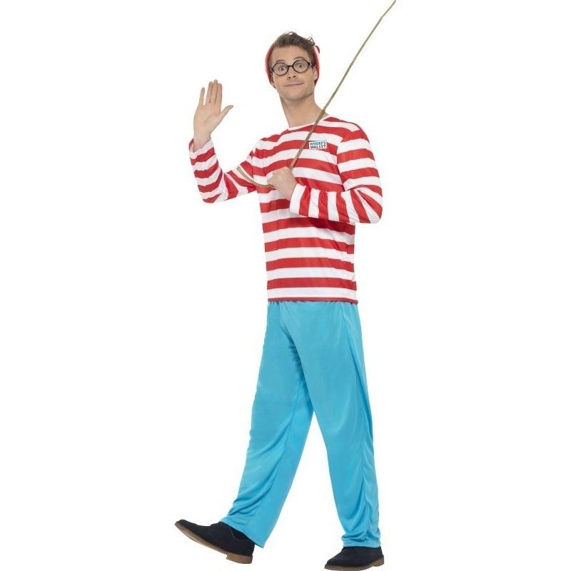 Waar is Wally kostuum voor heren