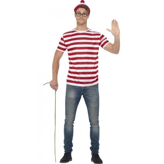 Waar is Wally verkleedset voor heren