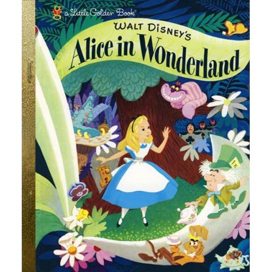 Walt Disney boekje Alice in Wonderland