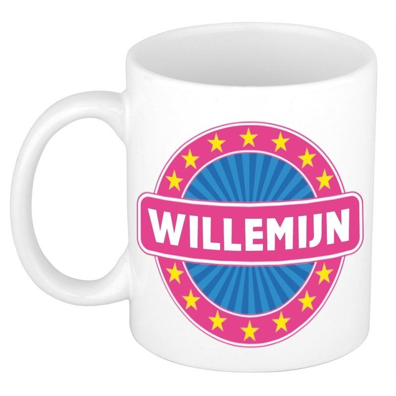 Willemijn naam koffie mok - beker 300 ml