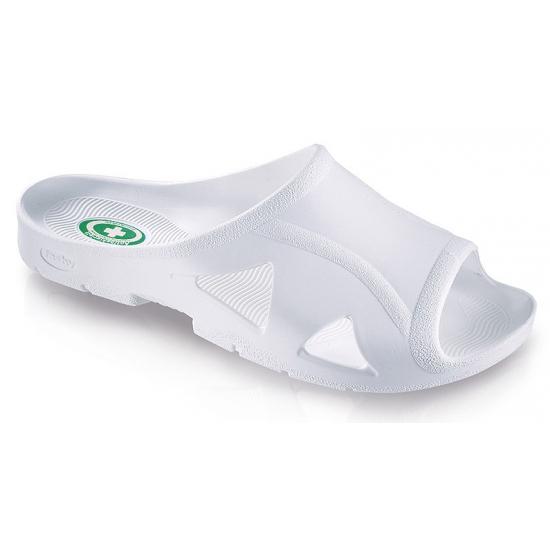 Witte bio sandalen voor heren
