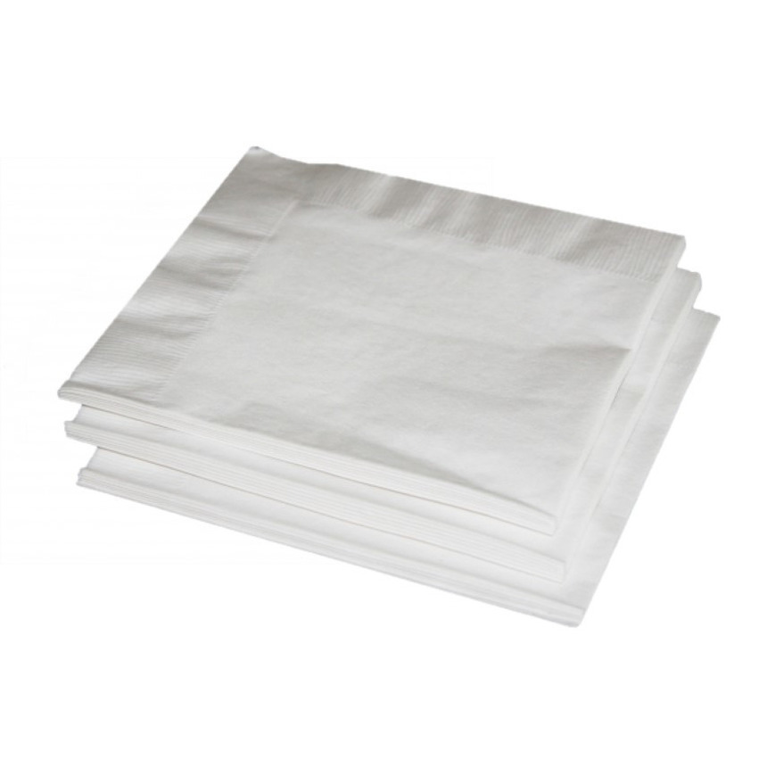 Witte servetten 33 x 33 cm