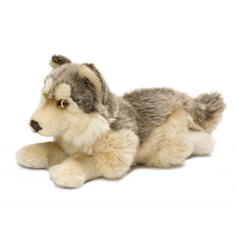 Wnf Pluche Wolf Knuffel Liggend 25 Cm