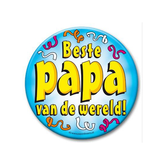 XXL button beste papa