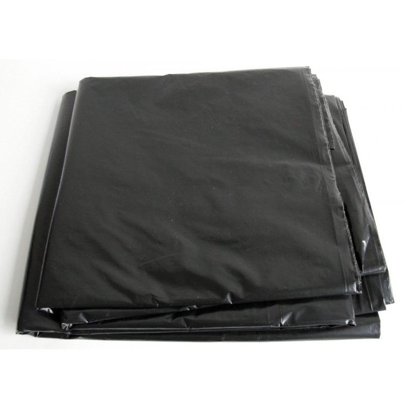 Zwart afdekzeil-dekzeil 4 x 5 meter