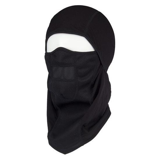 Zwarte bivakmuts - balaclava voor onder helm