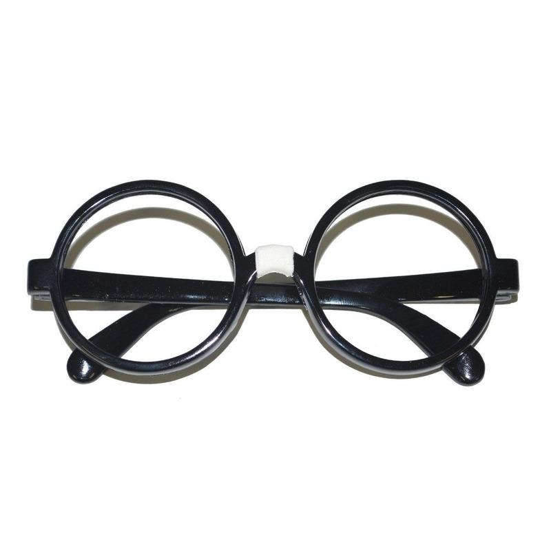 Zwarte nerd bril voor volwassenen