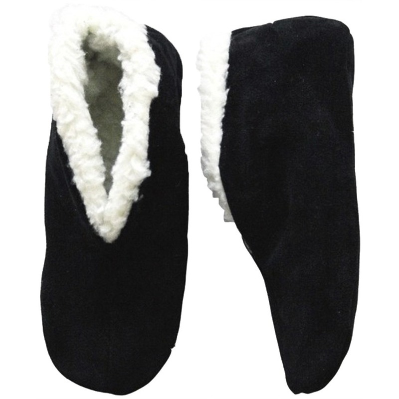 Zwarte Spaanse sloffen/pantoffels voor dames/heren